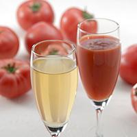 トマト以上のトマト味 デリシャストマト丸しぼり「プレミアム」&露しずく 紅白セット