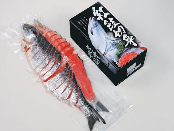 <47CLUB>紅鮭姿切身(4分割真空) 【送料別】画像