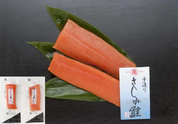 <47CLUB>【羅臼産】さしみ鮭のさく造り 151ASA0027画像