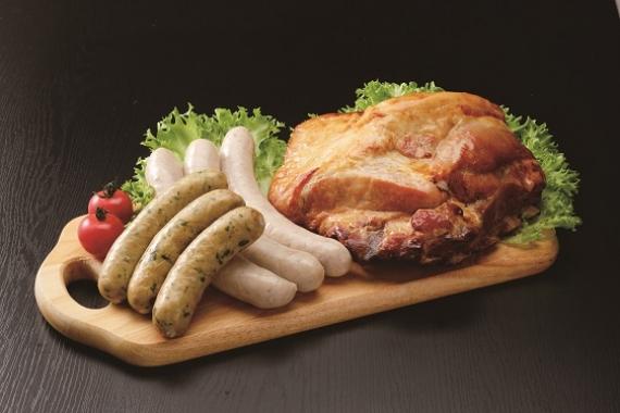 燻製仕上げ 『無塩せき造り』(北海道産)肉厚スペアリブと2種のフランク詰合せ【お中元2020】【精肉・肉加工品】