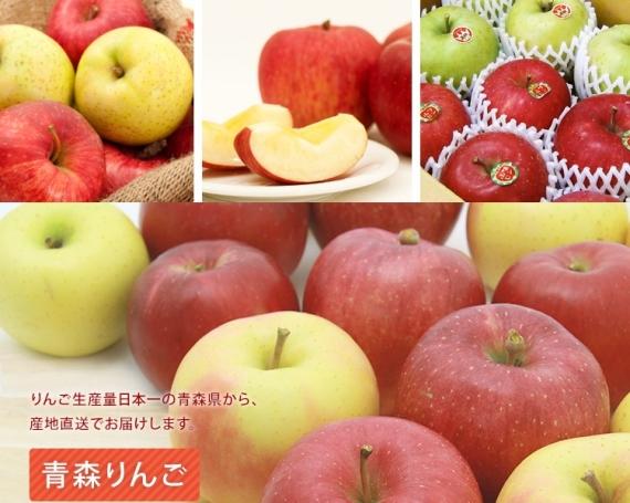 【贈答用】 産地直送! 新鮮な旬の 青森 りんご 混合 ミックス品種 5 キロ(送料別途)