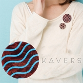 「KAVERS」ブローチ KVR-003 -S-