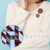「KAVERS」ブローチ KVR-006 -S-
