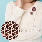 「KAVERS」ブローチ KVR-008 -S-