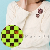 「KAVERS」ブローチ KVR-010 -S-