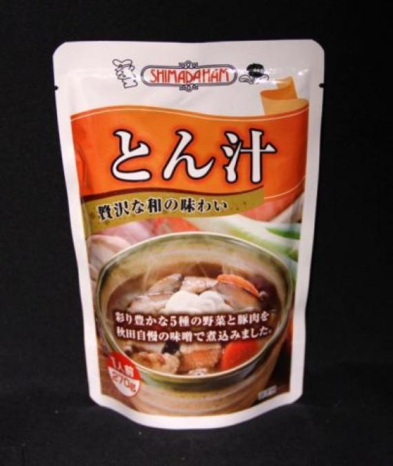嶋田ハム の とん汁 270g