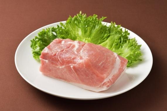 館ヶ森高原豚 モモ肉ブロック1Kg