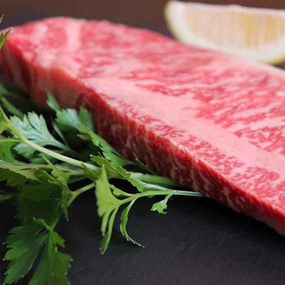 伝統の特産品【米沢牛 サーロインステーキ】200g