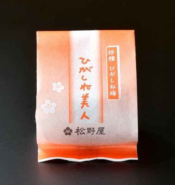 ひがしね美人/完熟梅中粒1粒 【一粒まるごと使った梅菓子】