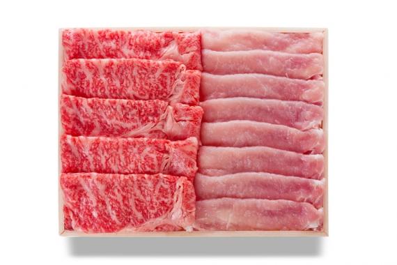 福島県牛・エゴマ豚よくばりしゃぶしゃぶセット