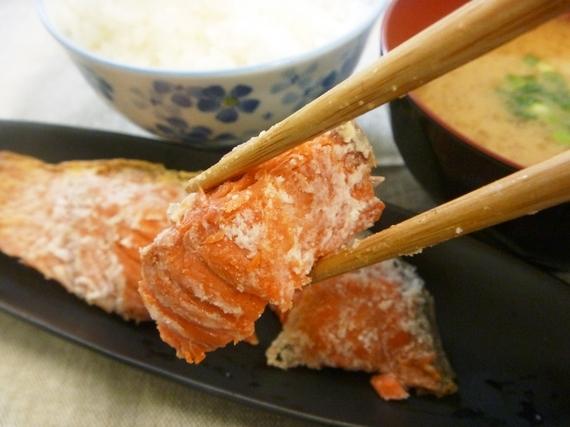 ◆頑固親父の『天然紅鮭雪鮭漬』『甘塩紅鮭』と『あぶらぼうずの黒豆麹味噌漬』