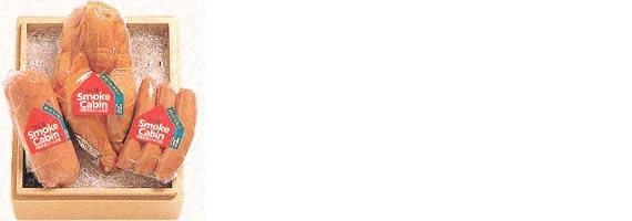 【贈答用詰め合わせ】ポークソーセージ フランクソーセージ スモークチキン(半身)[NA3]