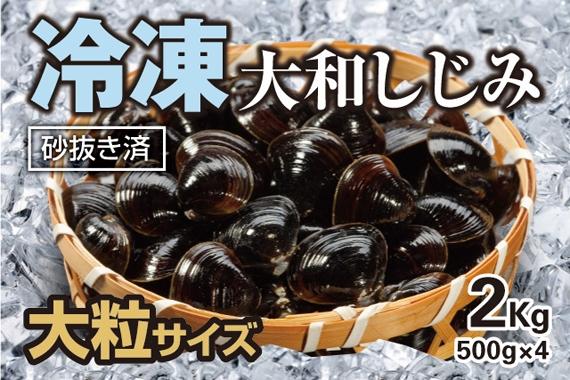 冷凍大和しじみ 大粒サイズ(砂抜き済み) 2kg