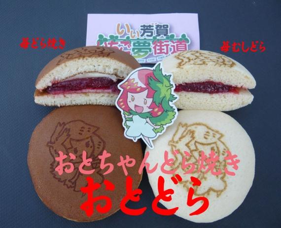 【苺じゃむバターどら焼き!】  おとちゃんどら焼き 10個入り【送料無料】