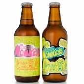 THE NIKKO MONKEYS 【PREMIUM LAGER】・【PALE ALE】 「6本セット」