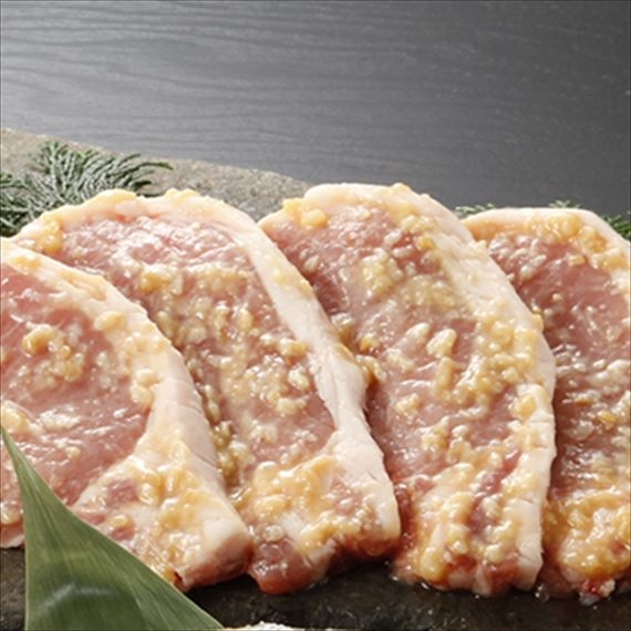 「群馬麦豚」ロース味噌漬5枚入り [M-5] 【父の日2021】【グルメ・おつまみ】