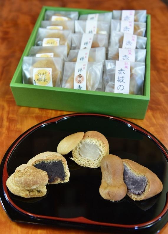 上州銘菓「上毛三山」