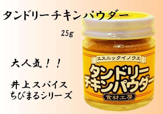 タンドリーチキンパウダー 25g【井上スパイス工業株式会社】