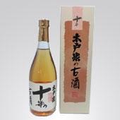 雑誌「週刊 現代」で紹介された外房の地酒 木戸泉酒造の『秘蔵純米古酒 十年 720ml』です。