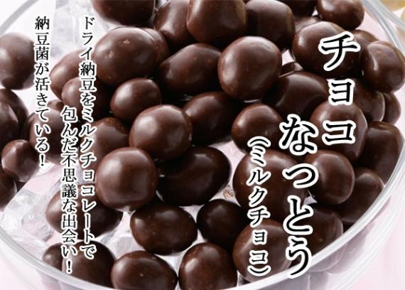 期間限定!チョコ納豆 (ミルクチョコレート)8g×10包入
