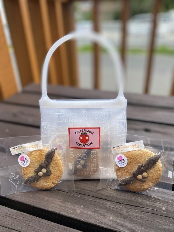 オガサワラオオコウモリクッキー(手提袋 4枚入)