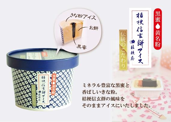 桔梗信玄餅アイス食べくらべセット(オリジナル4個・プレミアム4個)