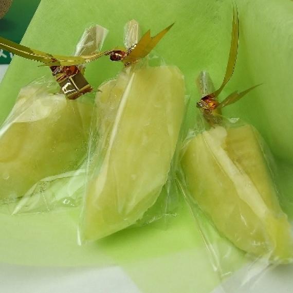 アイスメロンスティック 1箱【10本入り】 冷凍クール便送料無料【静岡県】【スイーツ・和菓子】