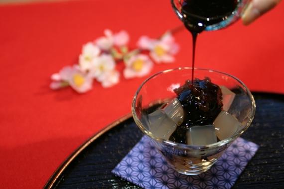 """【送料無料!】デザートところてん""""ところん""""黒蜜&あんこ 12食セット"""