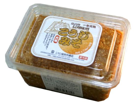 こうじみそ・粒 1kgパック(要冷蔵)[MI01T1PAK]