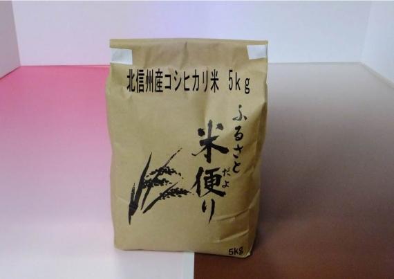 『送料別』  北信州いいやま産 【コシヒカリ米】5kg 好評販売中!【米・野菜・惣菜】