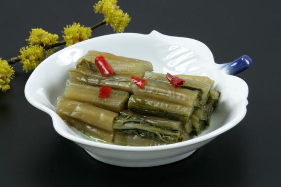 【長野の王道漬物やっぱりおいし〜い♪】農家の手づくり野沢菜漬 【送料無料】