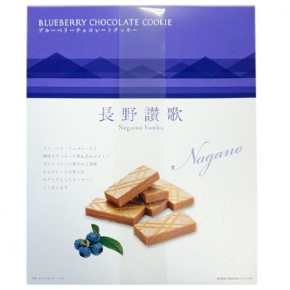 長野讃歌ブルーベリークッキー33個入 信州長野のお土産