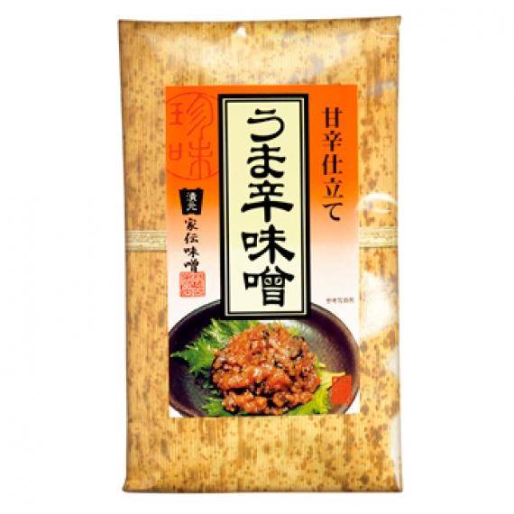 甘辛仕立てうま辛味噌(竹紙) 信州長野のお土産