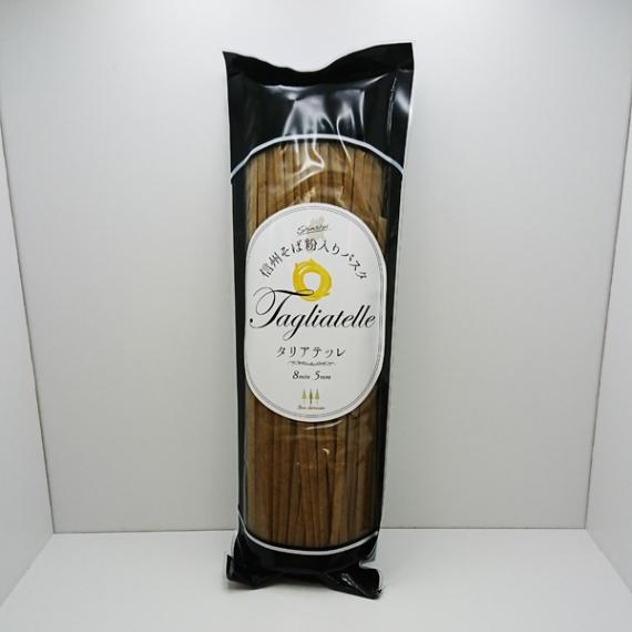 そば粉入りパスタ タリアテッレ 信州長野県蕎麦のお土産