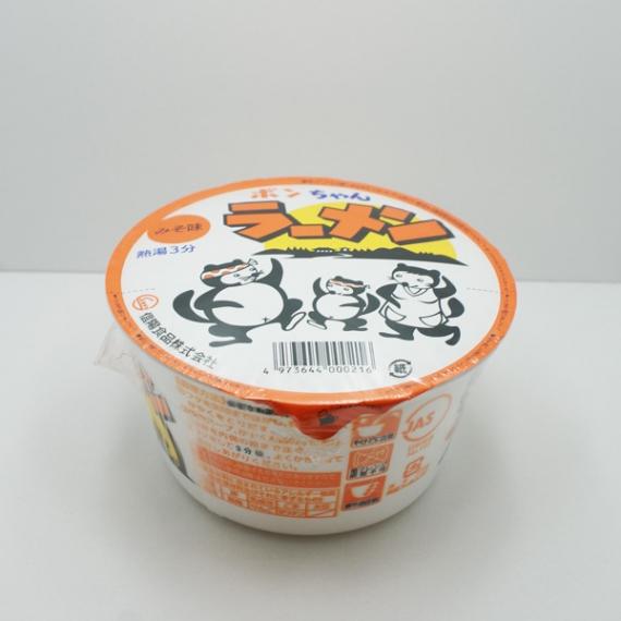 ポンちゃんラーメンカップ味噌×12個