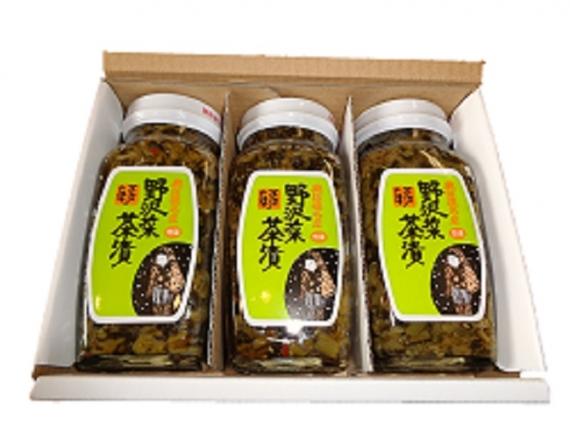野沢菜茶漬400g×5本