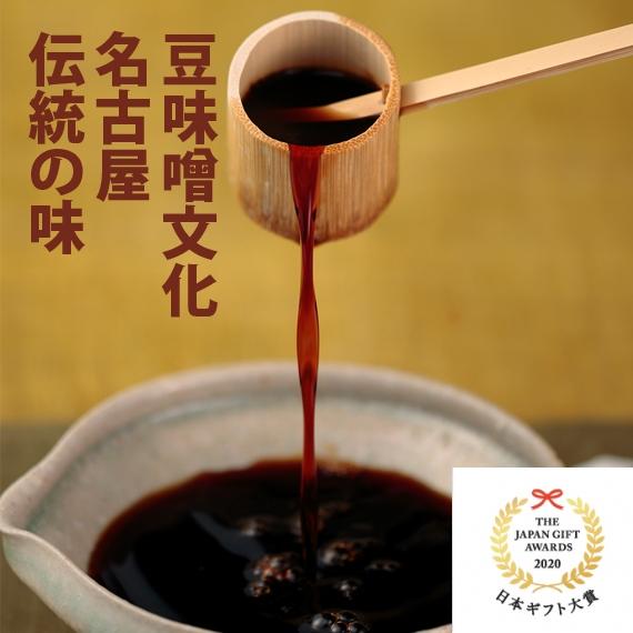豆味噌文化、名古屋伝統の味【濃厚たまりだし醤油】360ml