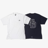 【BY×CD】SHORT SLEEVE T-SHIRT【WH】【Sサイズ】