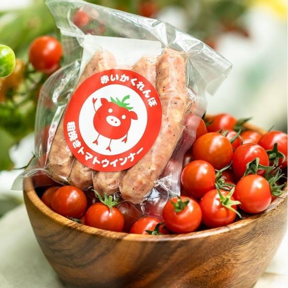 赤いかくれんぼ 粗挽きトマトウインナー(プレーン)