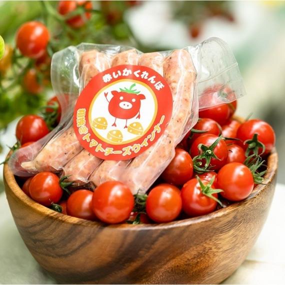 赤いかくれんぼ 粗挽きトマトウインナー(チーズ入り)