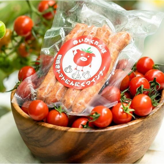 赤いかくれんぼ 粗挽きトマトにんにくウインナー