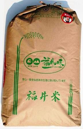 福井県産 令和2年産 コシヒカリ玄米30キロ(送料無料)