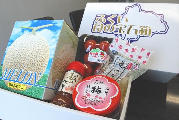 【今が旬! メロンやトマトを詰め合わせ♪】ふくい食の宝石箱(春・夏特産品)