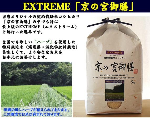 【令和2年産】EXTREME(エクストリーム)「京の宮御膳」 2kg