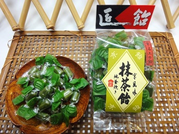 京風味 抹茶飴 120g