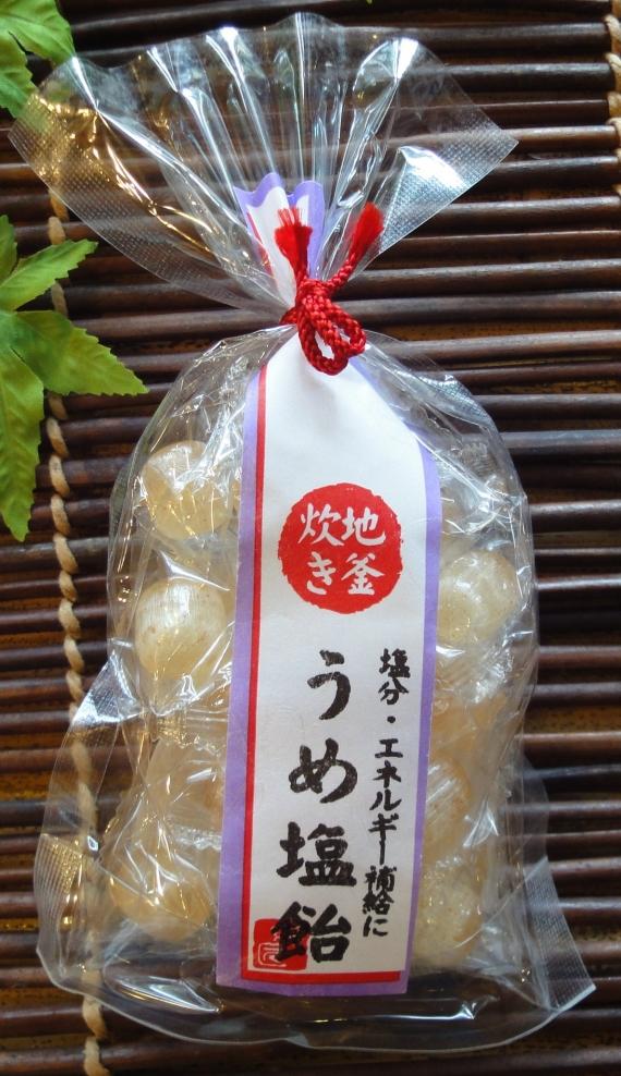京の暑気払い うめ塩飴 100g