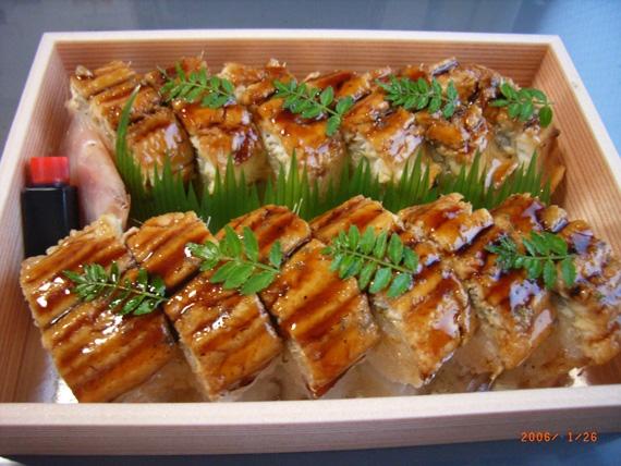 京の穴子棒寿司12巻【お歳暮2021】【カニ・鮮魚・魚介類】【米・野菜・惣菜】