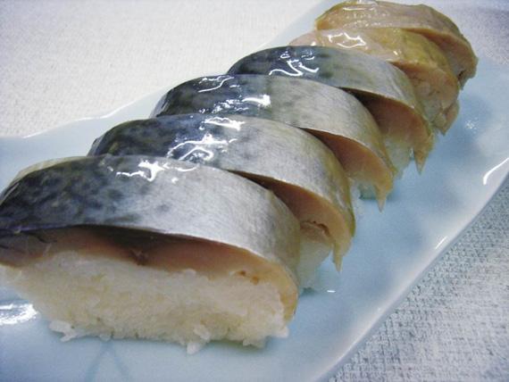京の伝統の鯖寿司ハーフサイズ(6巻)【お中元2020】【漬魚・魚加工品】