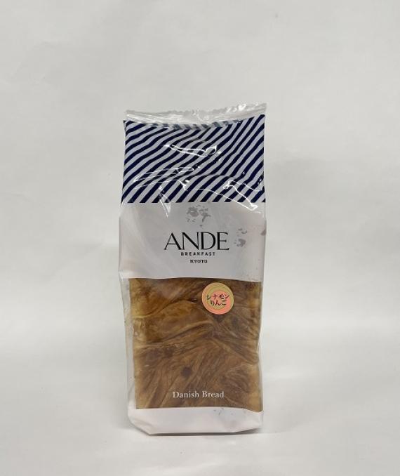 ANDE デニッシュ食パン シナモンりんごデニッシュ 1斤