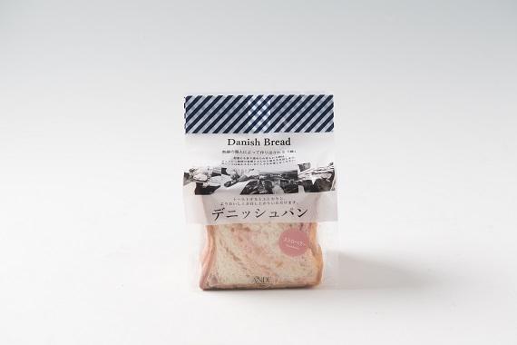 ANDE デニッシュ食パン ストロベリーデニッシュ ハーフ(3枚切り)